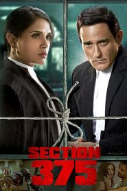 Section 375 (2019) HD Movie Watch Online & Download